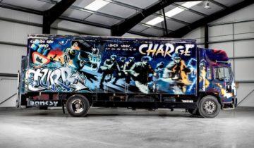 Banksy £1 Million Pound Truck